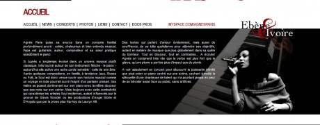 Chrysalis - Conseil & webdesign - Agnès Paris (home page)
